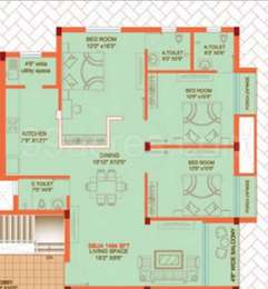 3 BHK Apartment in Archid Prestige