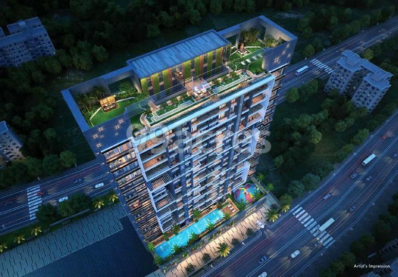 Arihant Advika Aerial View