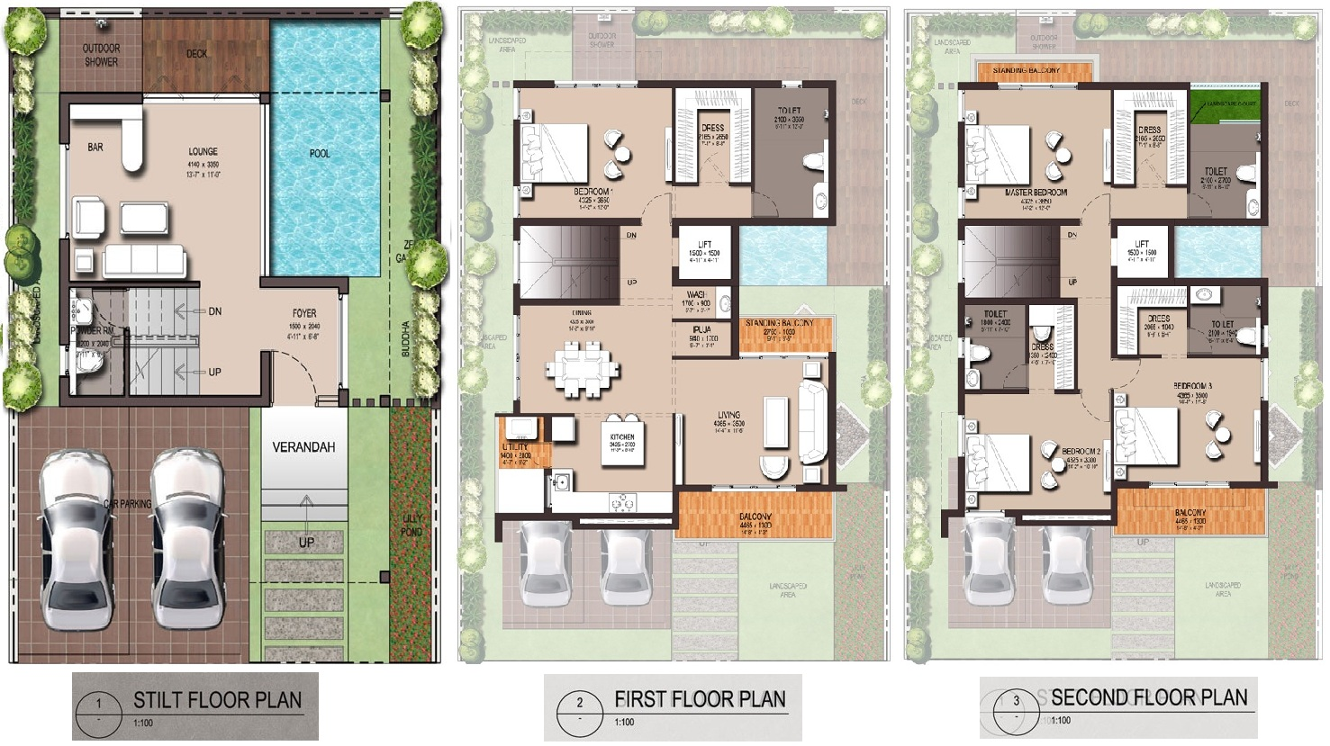 Artha property builders artha zen floor plan artha zen for Zen garden designs plan