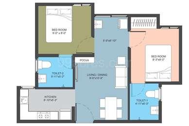 Arun Excello Builders Arun Excello Compact Homes Manjari Floor