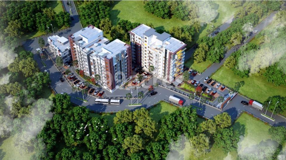 Aryan Ashashree Heights Aerial View
