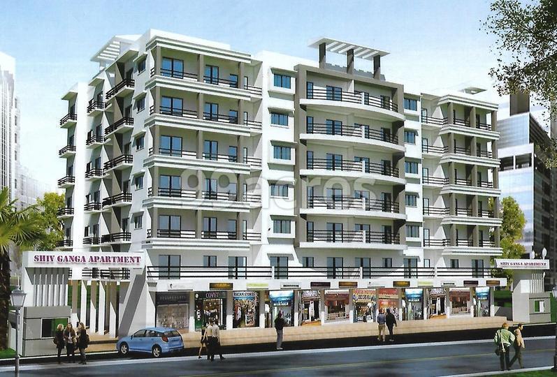 AS Shiv Ganga Apartment Elevation