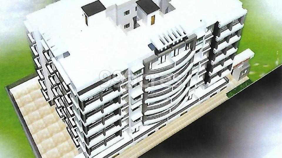 AS Shiv Ganga Apartment Aerial View