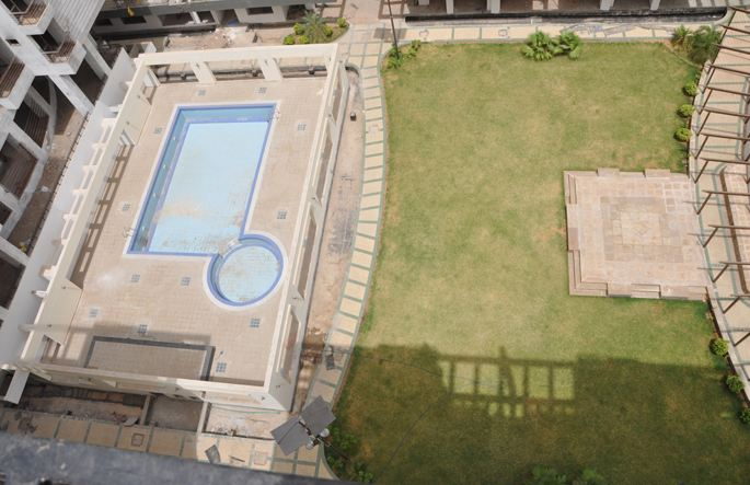 Ashadeep Green Avenue Swimming Pool View