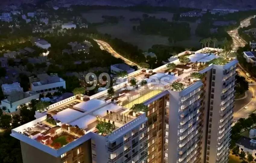 Ashar Metro Towers Aerial View