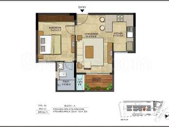 1 BHK Apartment in Asset Northern Star