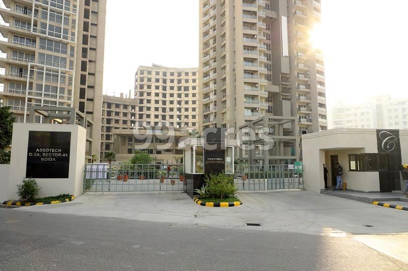 Assotech Celeste Towers Entrance