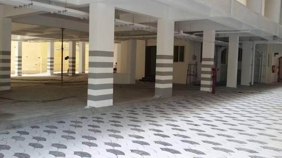 Aishwarya Homes Infiniti Parking Area