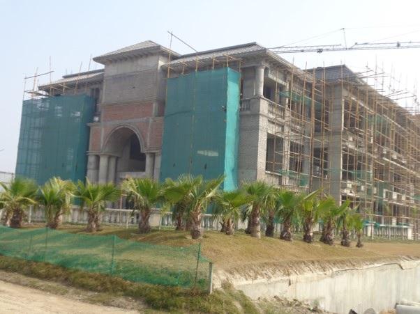 ATS Kinghood Drive construction status 23/01/2020