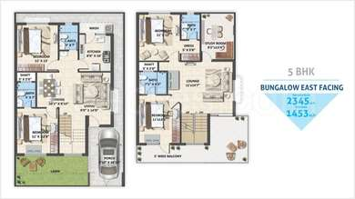 Avinash Capital Homes 2 - 4BHK+4T+Study(37), Villa