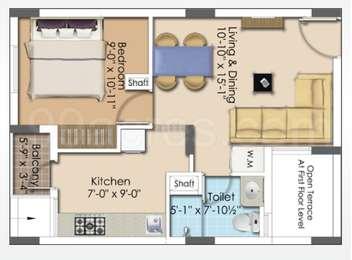 1 BHK Apartment in Asta AVM
