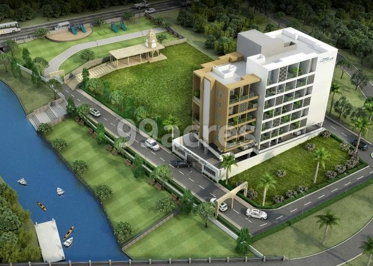 Ayush River Park View Artistic Aerial View