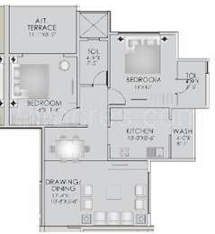 2 BHK Apartment in Balaji Anandam