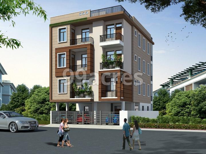 Balaji Residency Elevation
