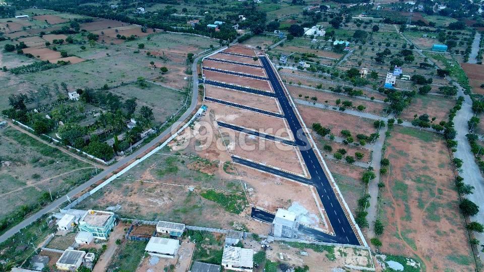 BRC SBI Green Town Aerial View