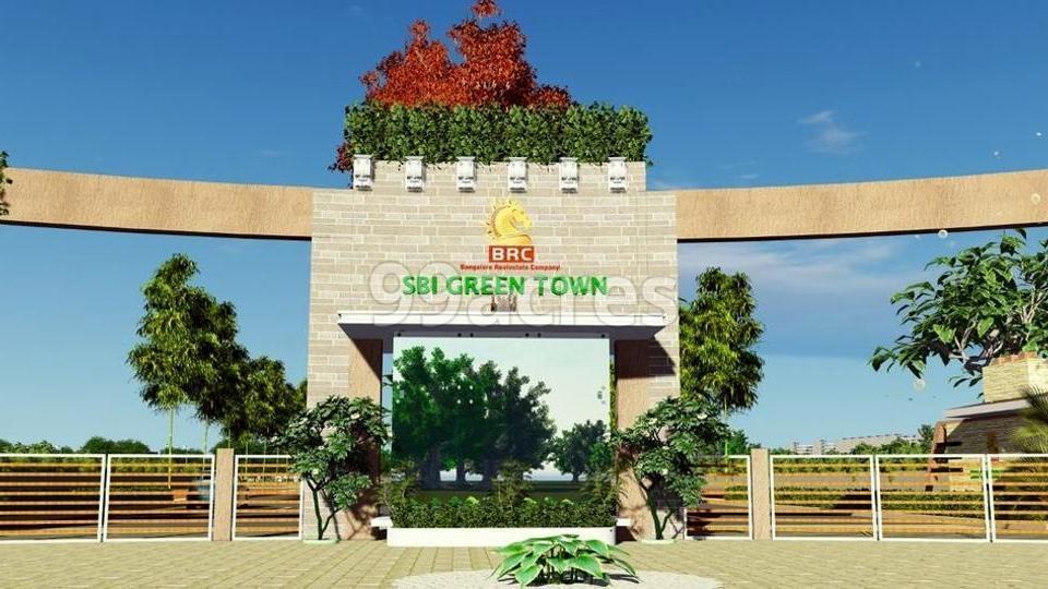 BRC SBI Green Town Entrance