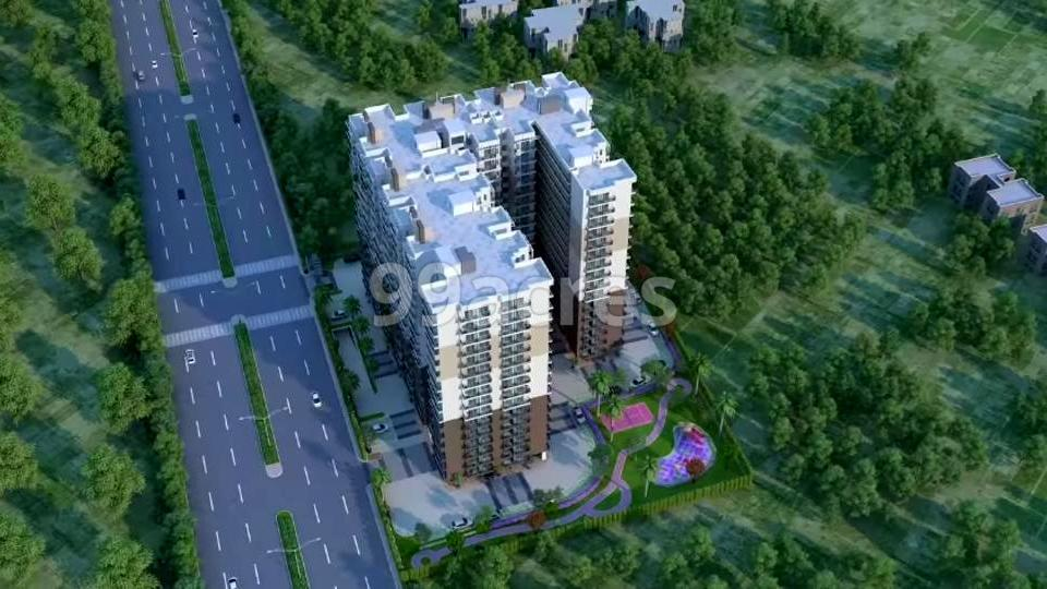Aggarwal Heights Aerial View