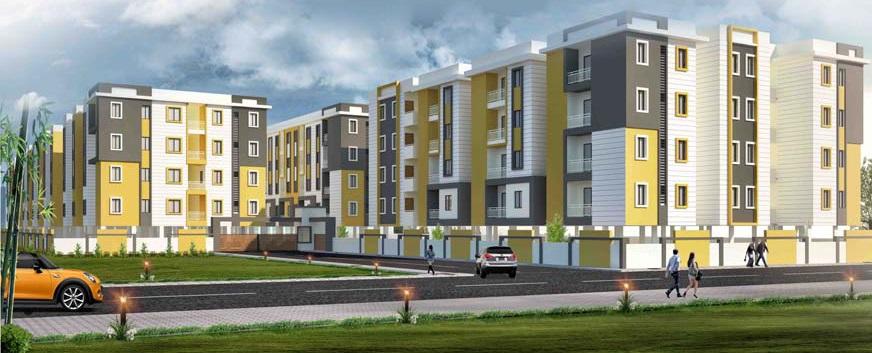 Bavisha Urban Homes Elevation