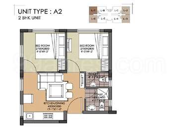2 BHK Apartment in Swan Green
