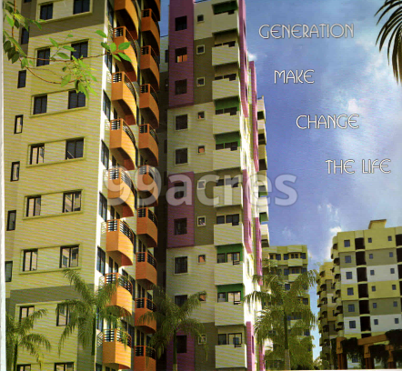 Bengal Infra Tapoban City Elevation