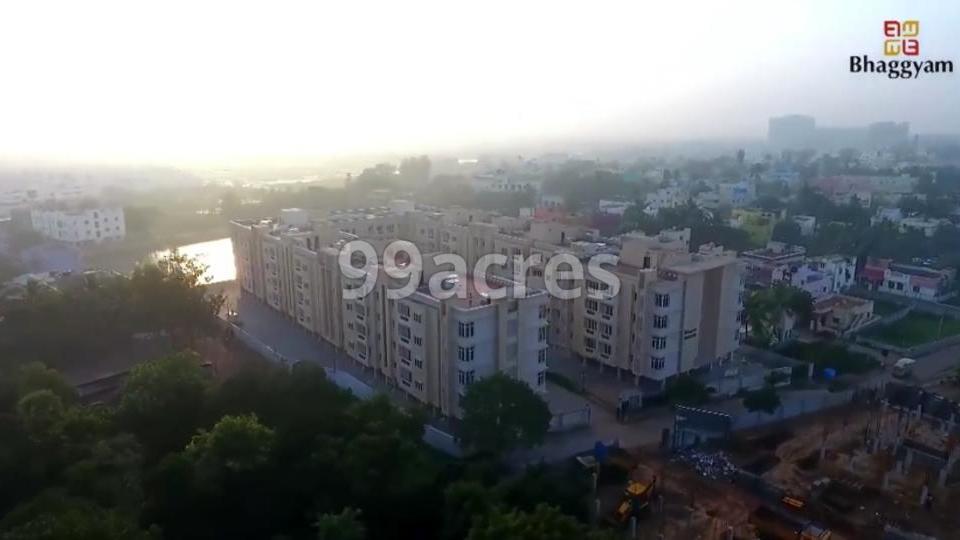 Bhaggyam Pragathi Aerial View