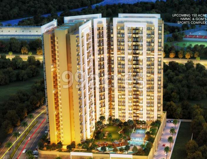 Bhairaav Gold Crest Residency Aerial View