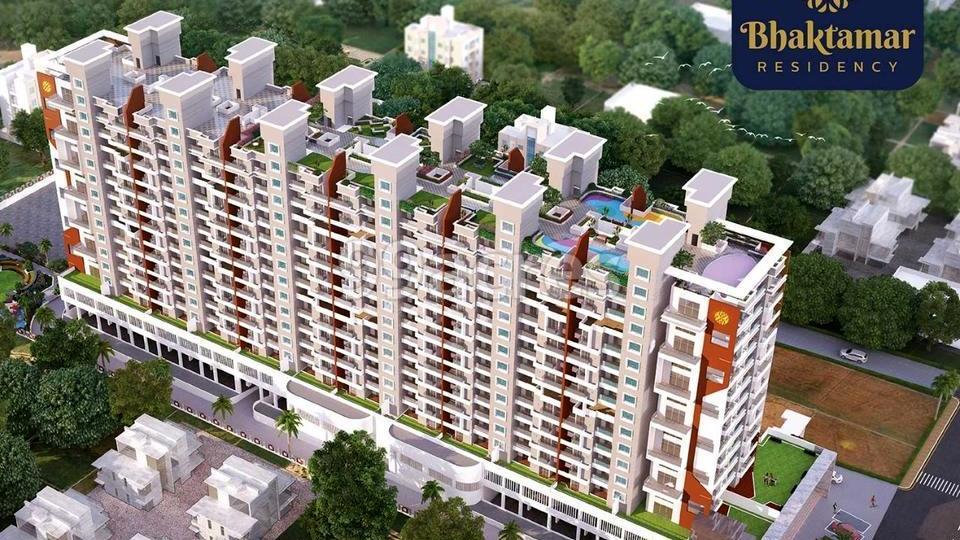 Bhaktamar Residency Aerial View