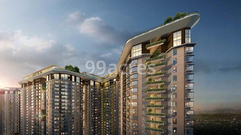 Bhartiya City Nikoo Homes 4 Elevation