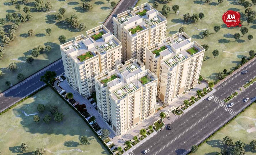 Bhavyaa Green Luxuria Aerial View