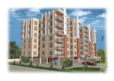 Bhawna Estate Executive Apartment Side elevation