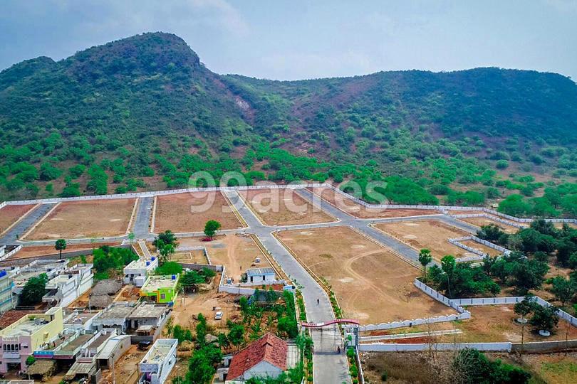 Bhoomatha Sri Chakra Green Valley Aerial View