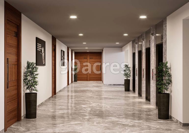 Binori BSquare 2 Artistic Lift Lobby