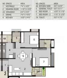 2 BHK Apartment in Binori Sonnet