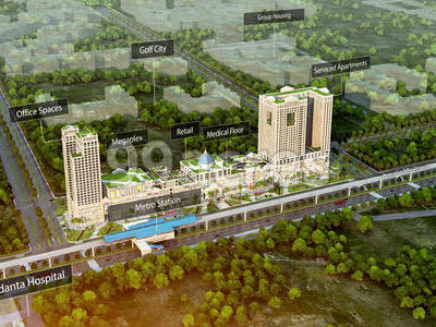 Blue Square Infrastructure LLP Blue Square Spectrum At Metro Sector-75 Noida
