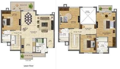 4 BHK Apartment in BPTP Mansions Park Prime