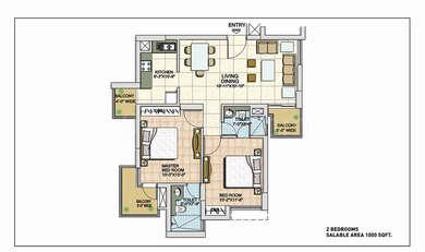 2 BHK Apartment in BPTP Spacio