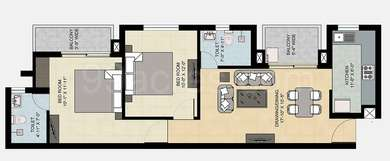 2 BHK Floor in