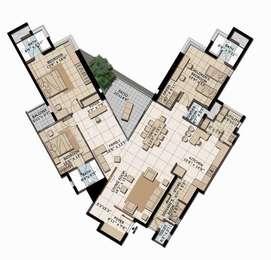 Brigade Exotica - 3BHK+5T+Servant Room(3), Super Area: 2990 sq ft, Apartment