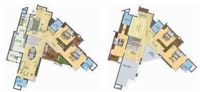 Brigade Exotica - 5BHK+6T+Store+Servant Room(8), Super Area: 5030 sq ft, Apartment