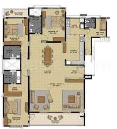 3 BHK Apartment in Pearl at Brigade Palmgrove