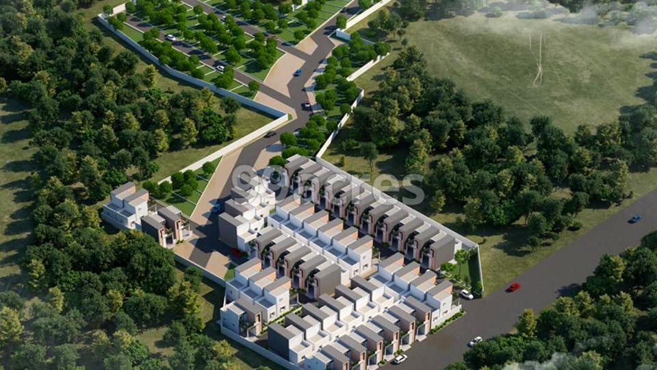 Budget Housing Pranav Orchid Aerial View