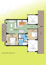 2 BHK Apartment in Buland City