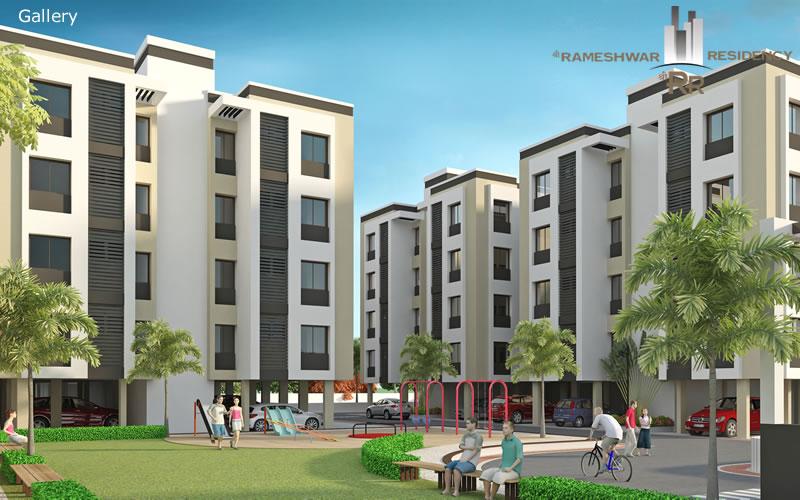 Shree Rameshwar Residency Sitting Area