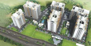 Calyx Laddha Properties and Merlin Group Calyx Navyangan Kasar Amboli, Pune