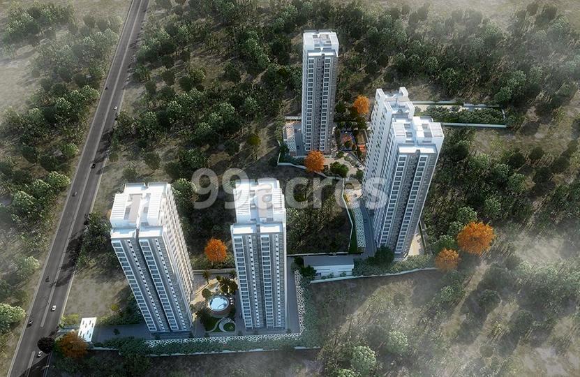 Candeur Landmark Aerial View