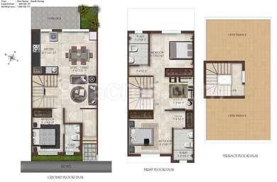3 BHK Villa in Casagrand Elan