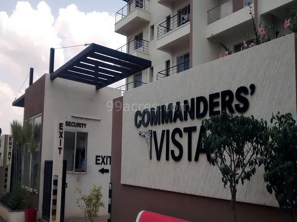 Century Commanders Vista Entrance View