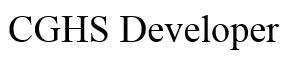 CGHS Developer