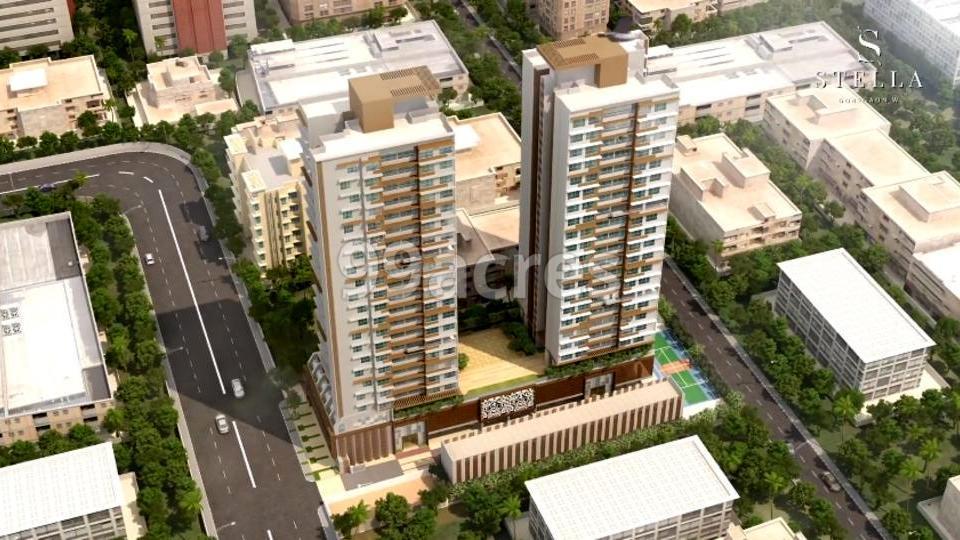 Chandak Stella Aerial View