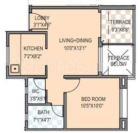 1 BHK Apartment in Grand View 7